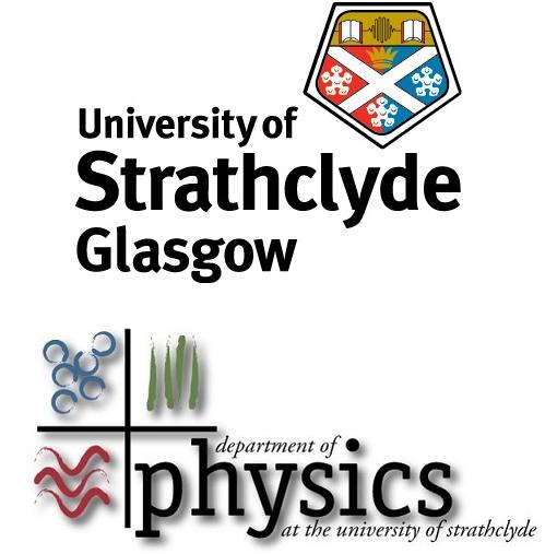 University and Physics Department logos